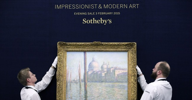 Monet means money: Auction nets record $280 million total